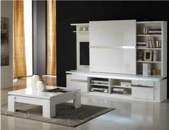 meuble tv riva tx nkl meuble wassa et deco. Black Bedroom Furniture Sets. Home Design Ideas