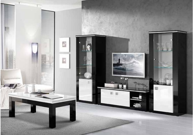 meuble tv etoile nkl meuble wassa et deco. Black Bedroom Furniture Sets. Home Design Ideas