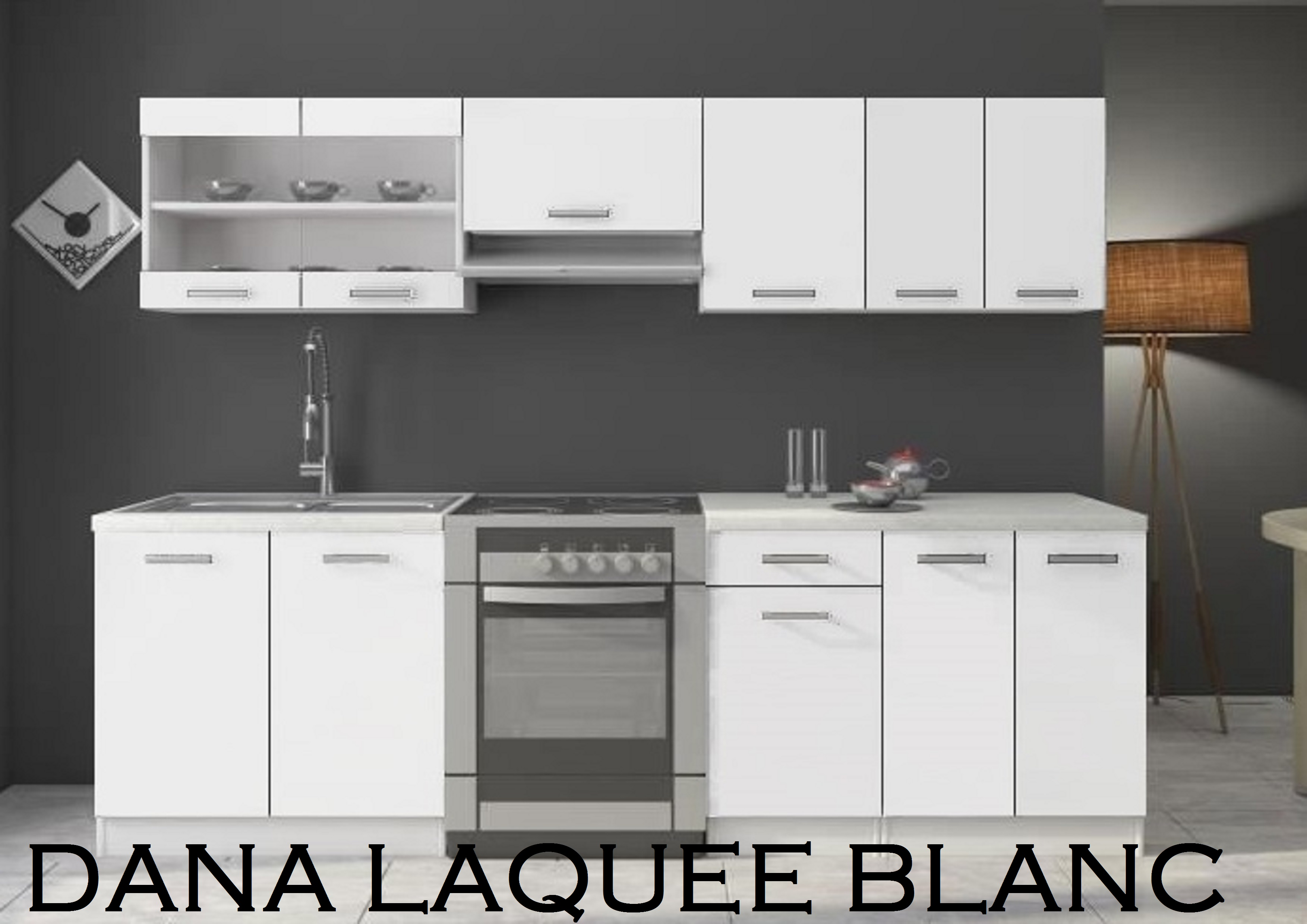 kit de cuisine dana nkl meuble wassa et deco. Black Bedroom Furniture Sets. Home Design Ideas
