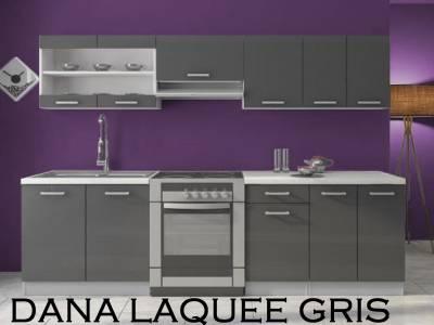 Kit Dana laquee gris