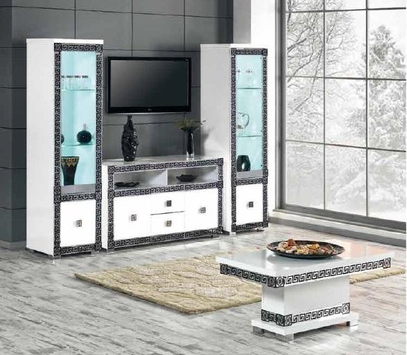 meuble tv new versace nkl meuble wassa et deco. Black Bedroom Furniture Sets. Home Design Ideas