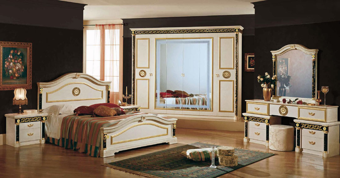 chambre versace nkl meuble wassa et deco. Black Bedroom Furniture Sets. Home Design Ideas