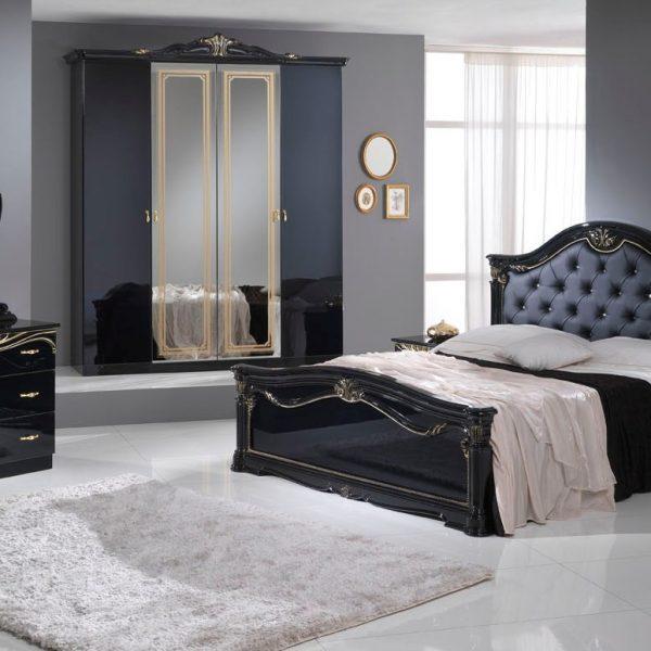 chambre eva nkl meuble wassa et deco. Black Bedroom Furniture Sets. Home Design Ideas