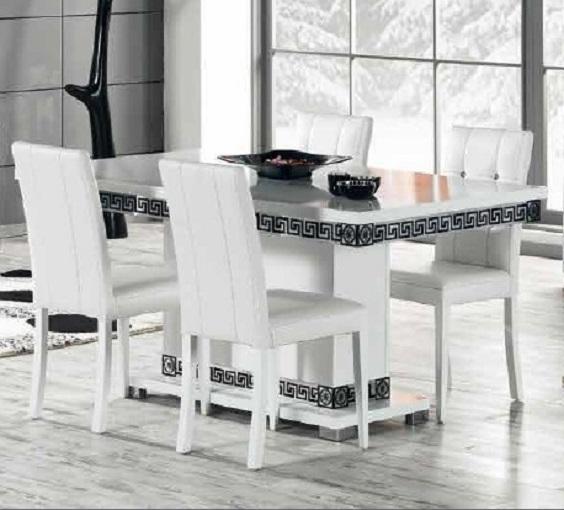 Versace New Versace manger New à Table Table manger à Aj354RL
