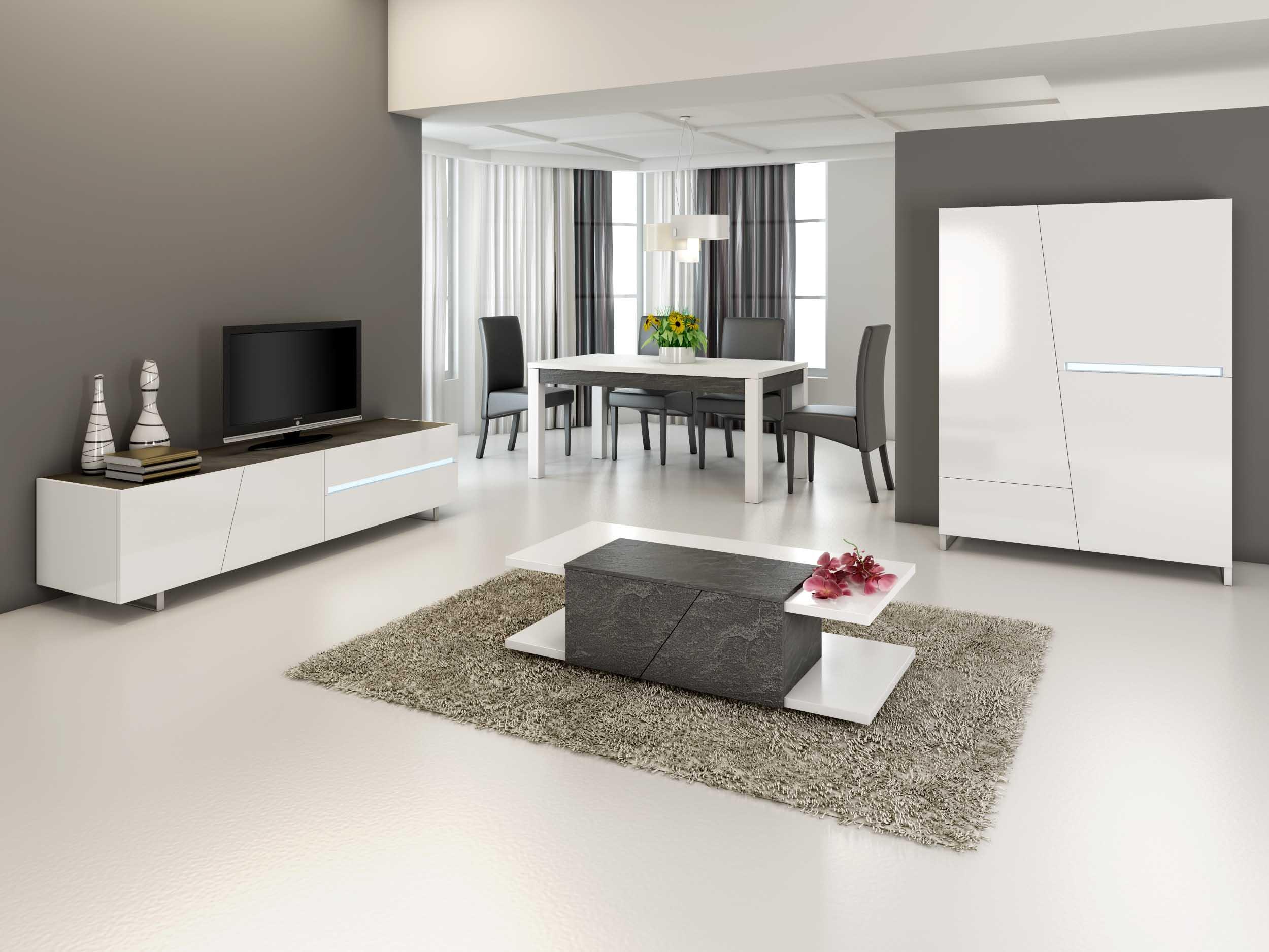 salle manger cooper nkl meuble wassa et deco. Black Bedroom Furniture Sets. Home Design Ideas