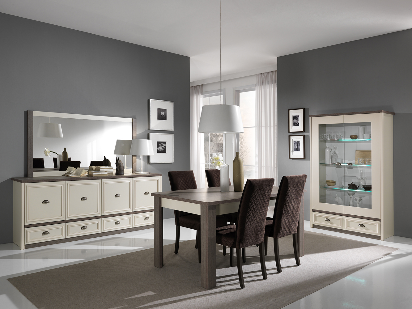salle manger country nkl meuble wassa et deco. Black Bedroom Furniture Sets. Home Design Ideas