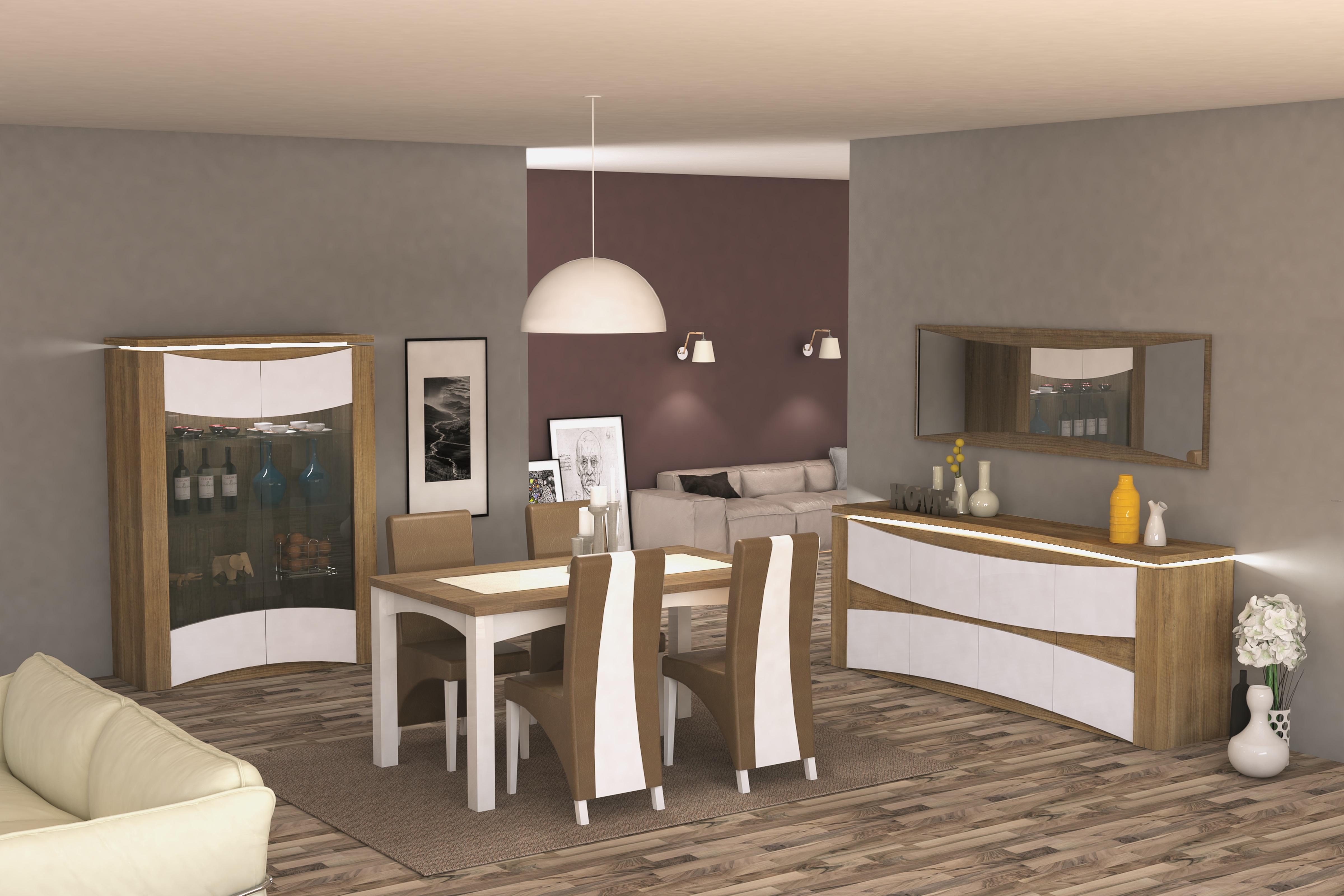 salle manger stella nkl meuble wassa et deco. Black Bedroom Furniture Sets. Home Design Ideas