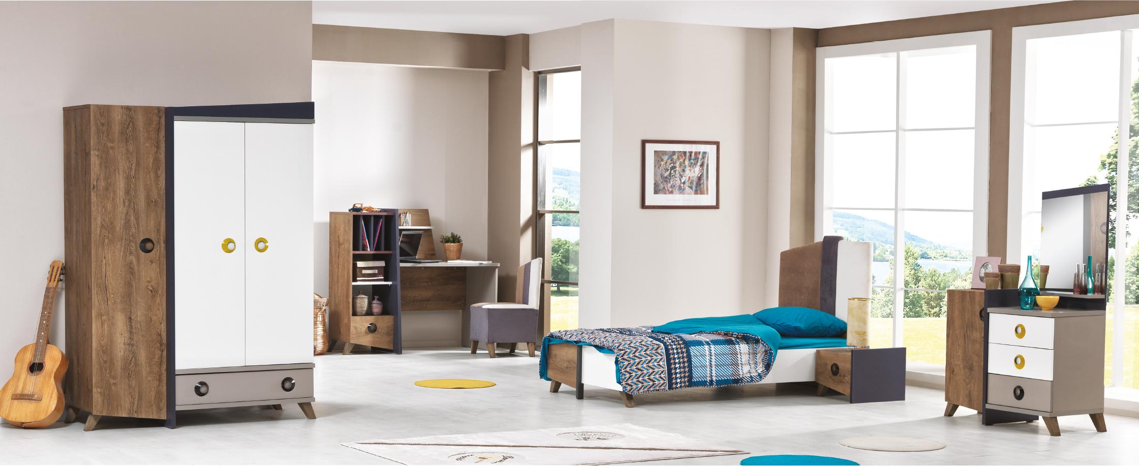 chambre dinamix nkl meuble wassa et deco. Black Bedroom Furniture Sets. Home Design Ideas