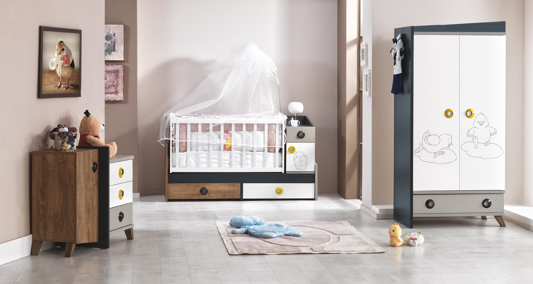 Chambre b b dinamix nkl meuble wassa et deco for Chambre discount