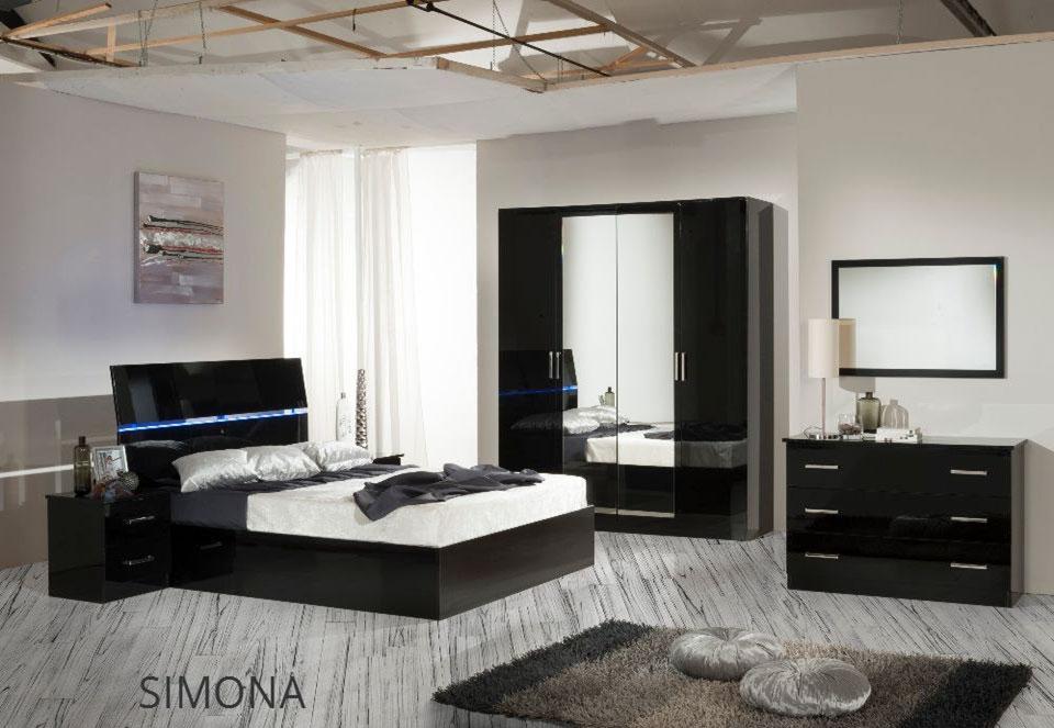 chambre simona nkl meuble wassa et deco. Black Bedroom Furniture Sets. Home Design Ideas