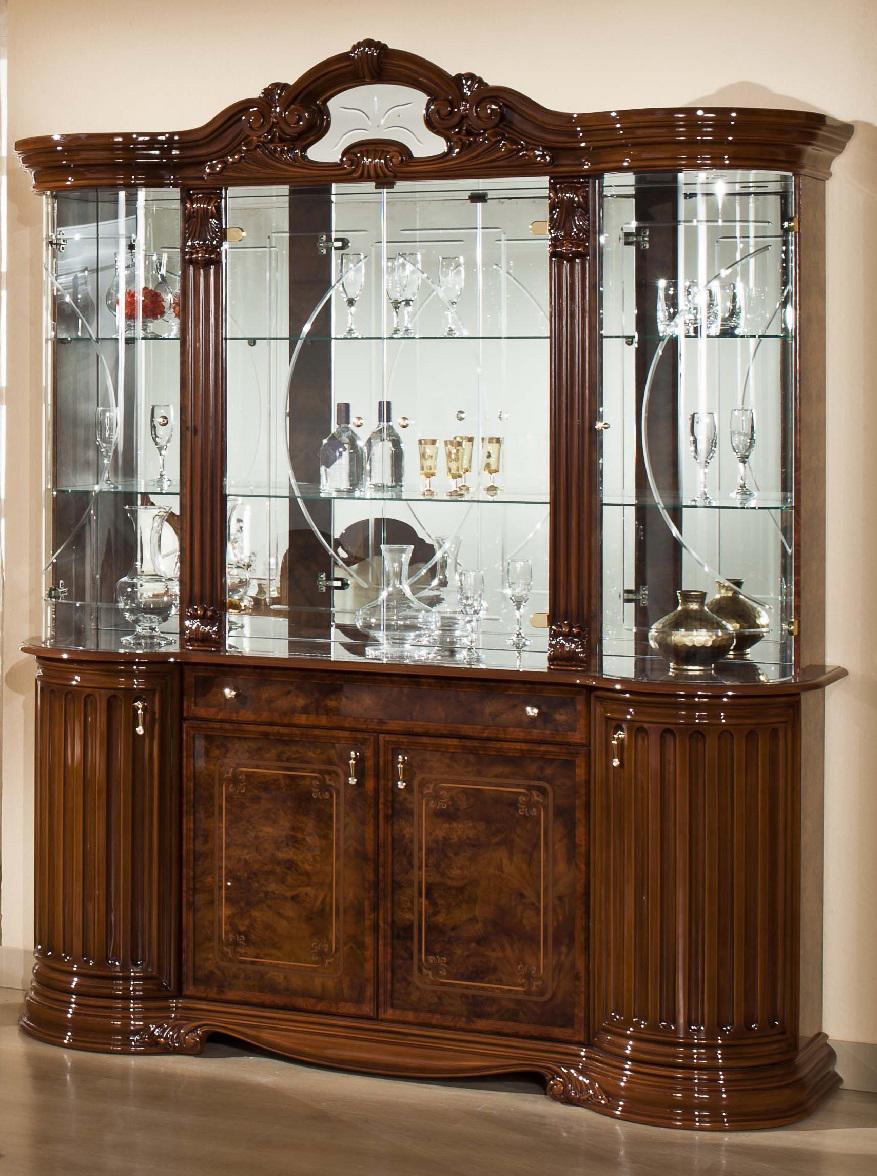 vitrine elisabeth nkl meuble wassa et deco. Black Bedroom Furniture Sets. Home Design Ideas