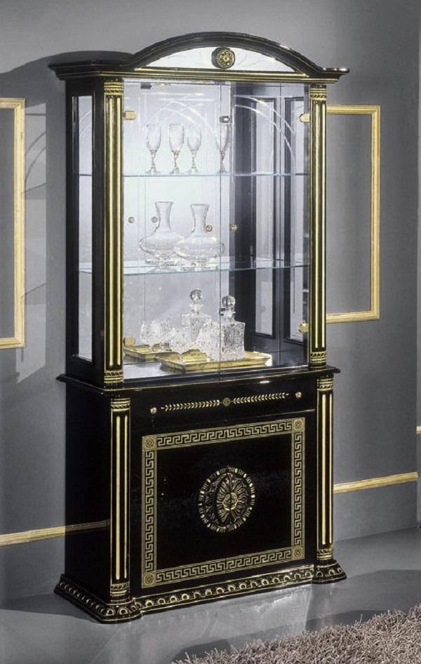 vitrine rossela nkl meuble wassa et deco. Black Bedroom Furniture Sets. Home Design Ideas