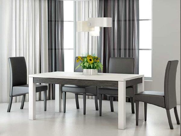 tables manger cooper nkl meuble wassa et deco. Black Bedroom Furniture Sets. Home Design Ideas