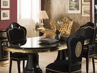 Table à manger venus versace2